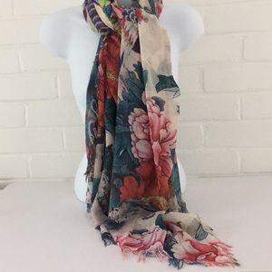 NWT. Colorful dress scarf